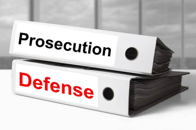 prosecution and defense notebooks