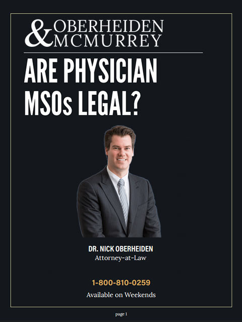 Are Physician MSOs Legal?