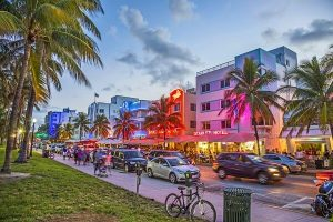 Miami federal criminal defense attorneys - Miami street scene