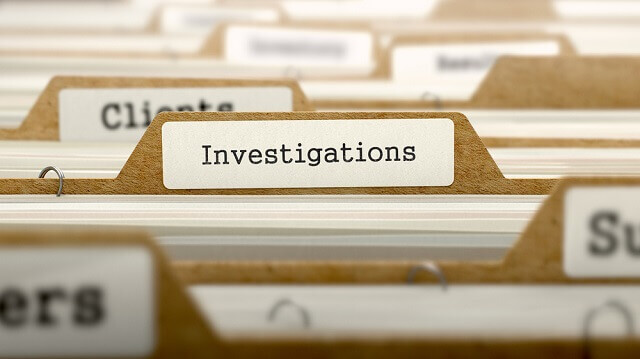 Civil Investigations folders