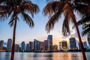 Miami federal criminal defense attorneys - Miami, Florida skyline