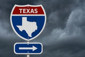 Texas interstate sign