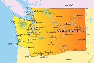 Washington Federal Criminal Defense - map Washington State