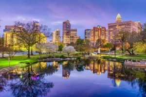 Charlotte health care fraud defense lawyers - skyline pic