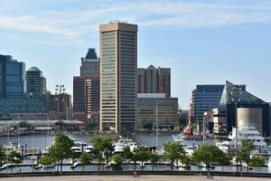 Baltimore health care fraud defense lawyers - skyline pic