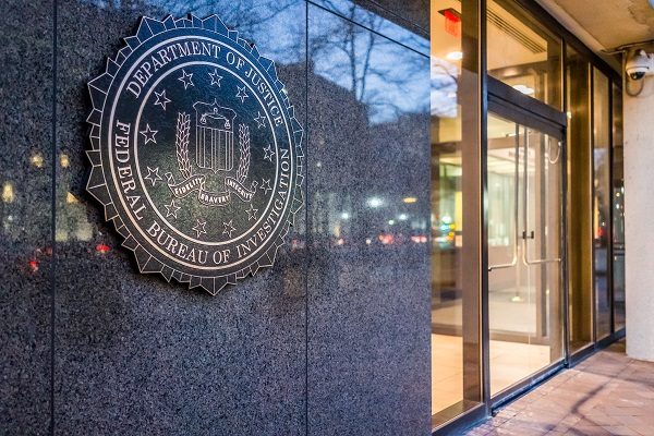 Washington Dc, Usa - December 29, 2016: Fbi, Federal Bureau Of I