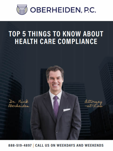 Top 5 things to know about health care compliance