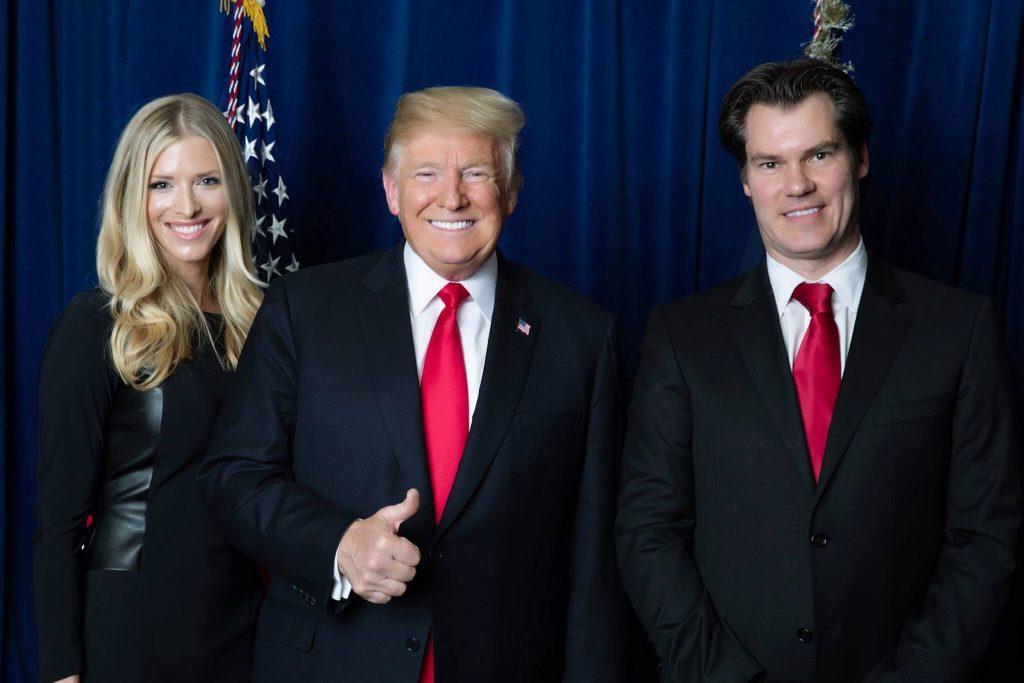 president trump with republican lawyer nick oberheiden